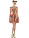 Sprinkles Print Fit and Flare Dress