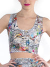Tinsel Crop Top