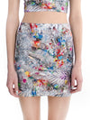 Tinsel Mini Skirt