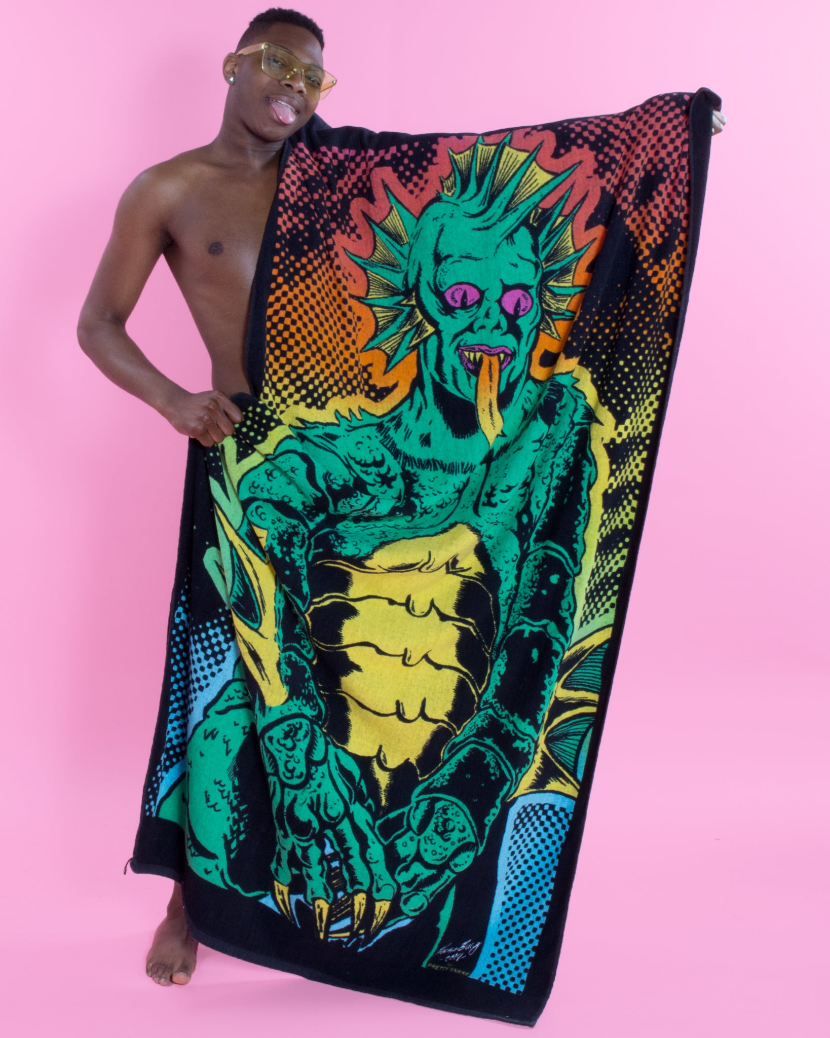 Gill-man Oversized Beach Towel