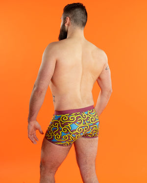 Wallpaper Pop Swim Trunks