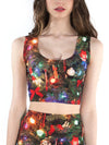Christmas Tree Crop Top