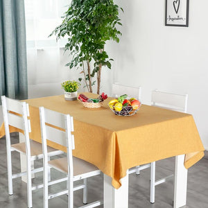 Original Linen Tablecloth Waterproof Oilproof Table Cover Cloth