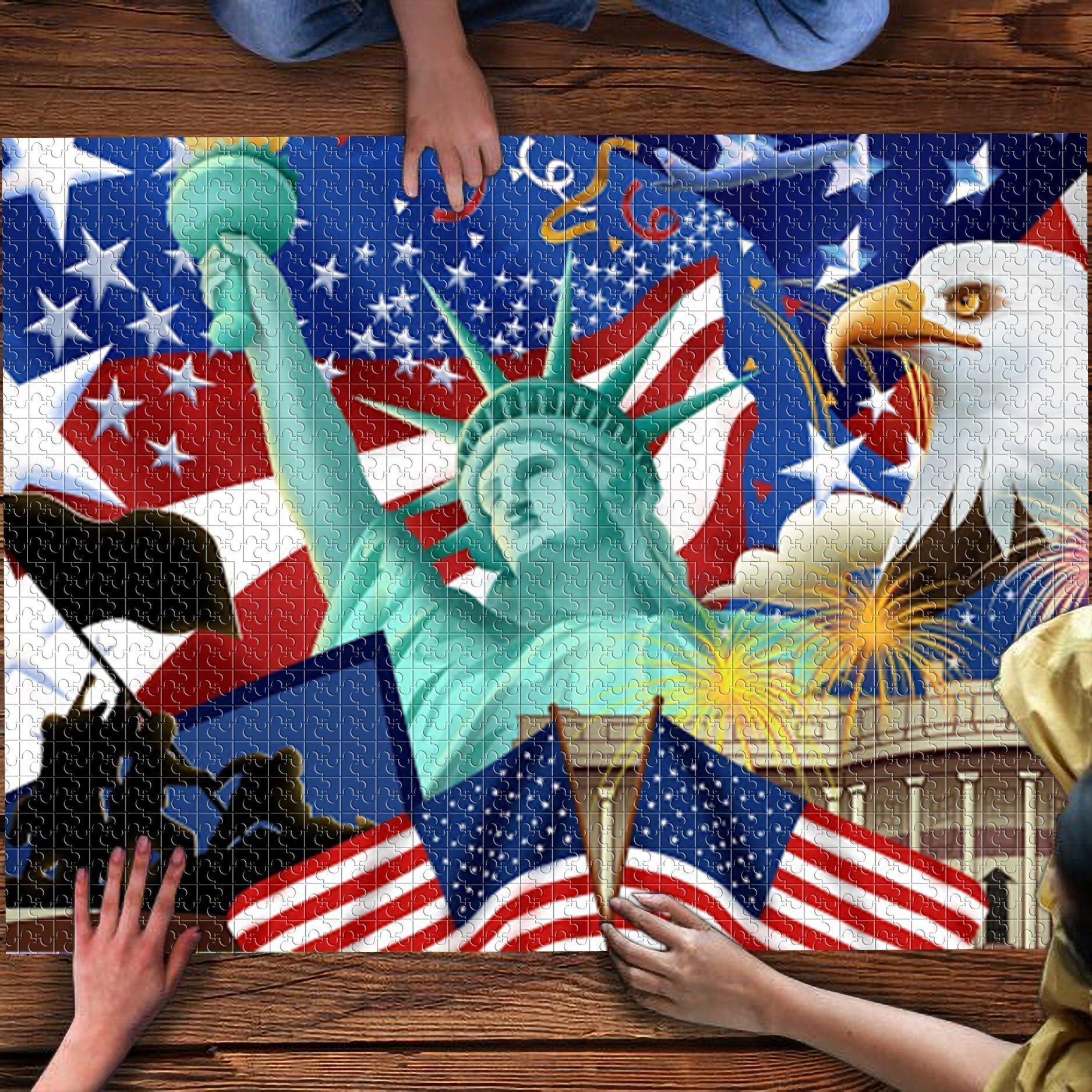 Celebrating July 4th- Puzzle