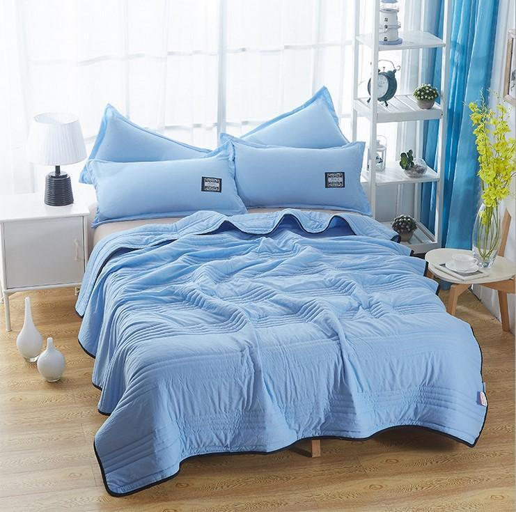 Cool Ice Silk Summer  Blanket Queen King Size Perfect For Summer