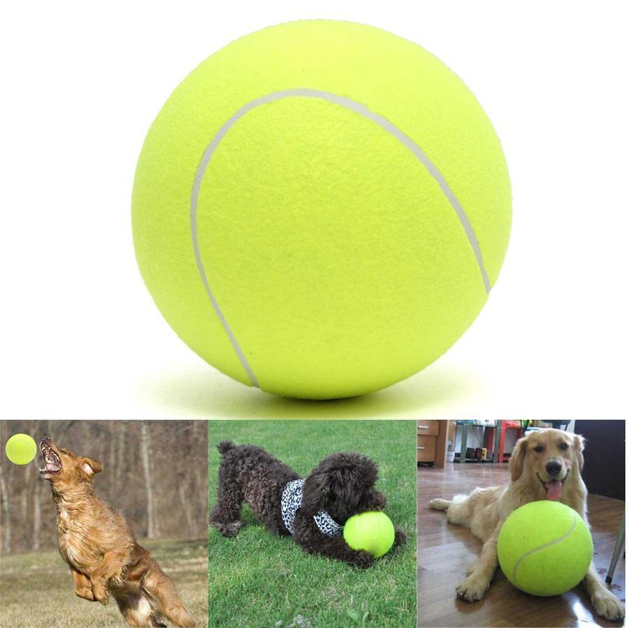 Giant Tennis Ball — The Greatest Dog Toy Ever