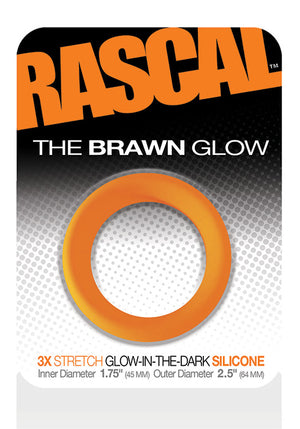 Load image into Gallery viewer, The Brawn Cockring Glow Orange