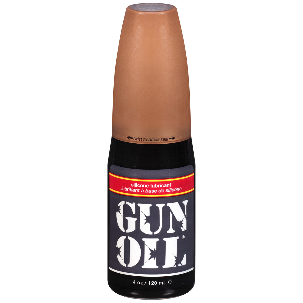 Gun Oil 4oz/120ml Flip Top Bottle