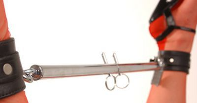Load image into Gallery viewer, Adjustable Steel Spreader Bar Silver