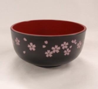 A middle bowl ?Washing-up washing machine OK? sakura black