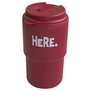 Double tumbler HERE red