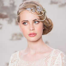 Load image into Gallery viewer, Bejewelled Bridal Hair Band