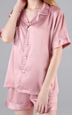Pyjama Set- Dusty Pink