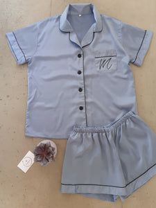 Pyjama set-  Dusty Blue