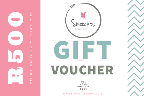 Smooches Bridal Voucher -R500