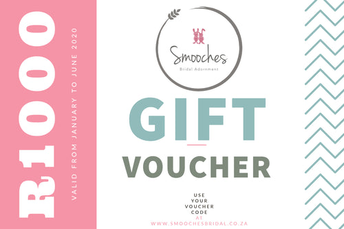 Smooches Bridal Voucher- R1 000