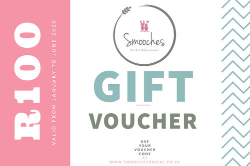 Smooches Bridal Voucher-R100
