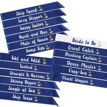 Load image into Gallery viewer, Nauti Bridesmaid Sashes