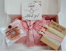 Load image into Gallery viewer, I can't say I do without you bridesmaid box