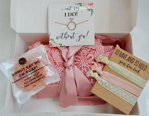 I can't say I do without you bridesmaid box