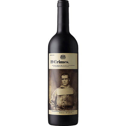 19 Crimes Red Wine 2016 (Australia) 750ml (4254530371689)