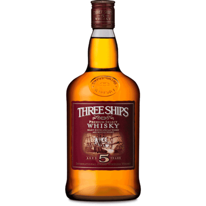 Three Ships 5-year-old Whisky (South Africa) 750ml
