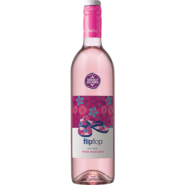 Flipflop Pink Moscato 2017 (California) 750ml