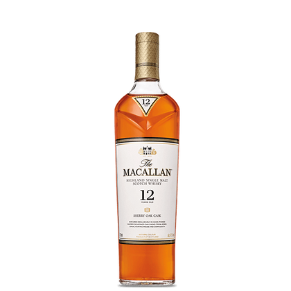 The Macallan Sherry Oak 12-year-old Single Malt Whisky (U.K.) 750ml (4574321115241)