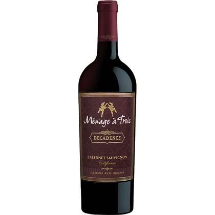 Menage a Trois Decadence 2017 (California, US) 750ml
