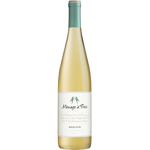 Menage A Trois Moscato 2017 (California) 750ml