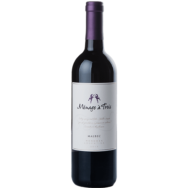 Menage a Trois Malbec 2017 (California, US) 750ML