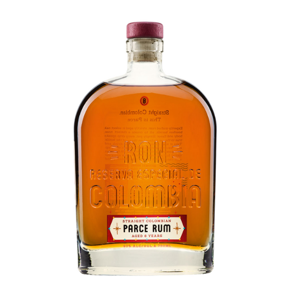 Parce 8 year old rum (Colombia) 750ml (4263794212969)