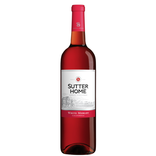 Sutter Home Family Vineyards White Merlot (California, US) 750ml