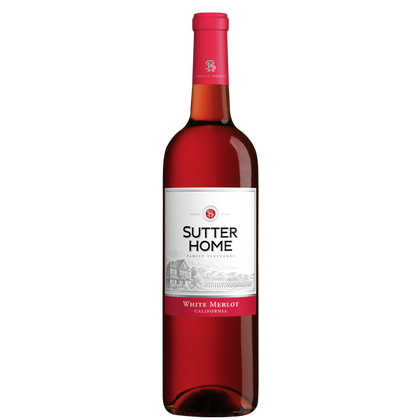 Sutter Home Family Vineyards White Merlot (California, US) 750ml (4254529323113)