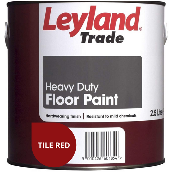 Leyland Heavy Duty Floor Paint 2.5 litres (4579378724969)