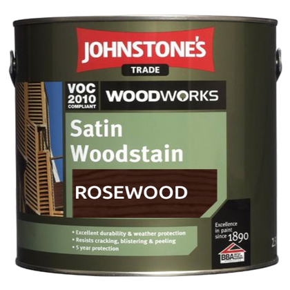 Johnstone's Rosewood Satin Woodstain (4556518260841)