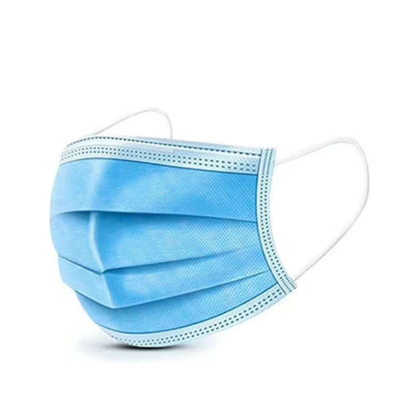 Universal 3ply Surgical Mask: Blue