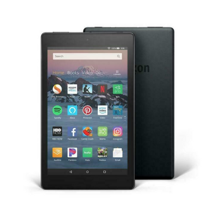 Amazon Fire 8: Black with Alexa