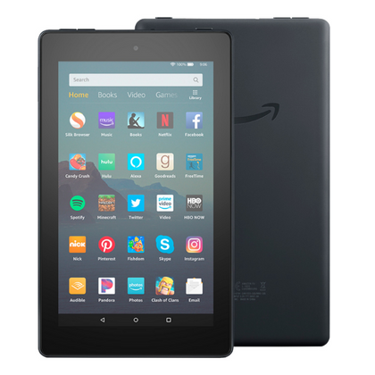 Amazon Fire 7: Black with Alexa