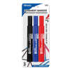 Assorted Color Chisel-Tip Permanent Markers