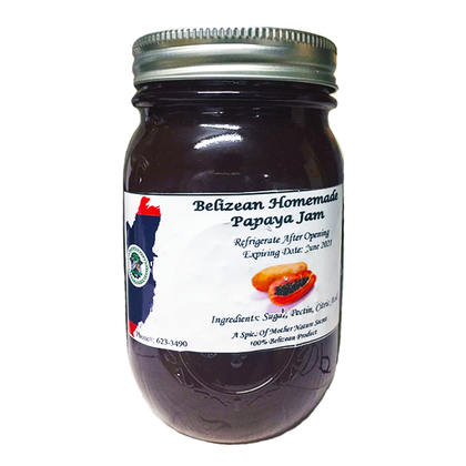 Belizean Homemade Papaya Jam