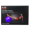 Body Sculpture Anti-Burst Gym Ball: Purple