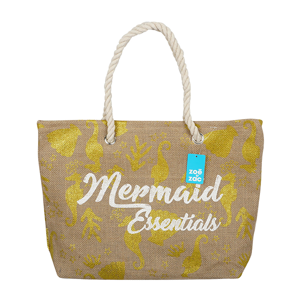 Mermaid Essentials Rope Tote Bag