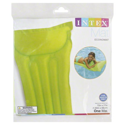 Intex Glossy Mat Float: Green