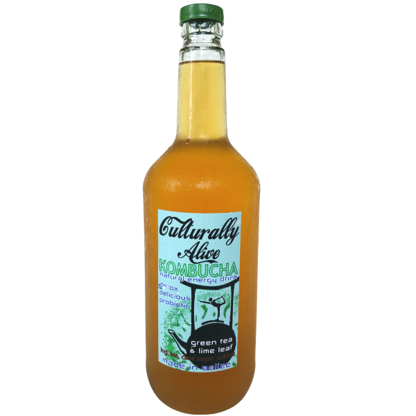 Culturally Alive Kombucha: Green Tea With Lime Leaf