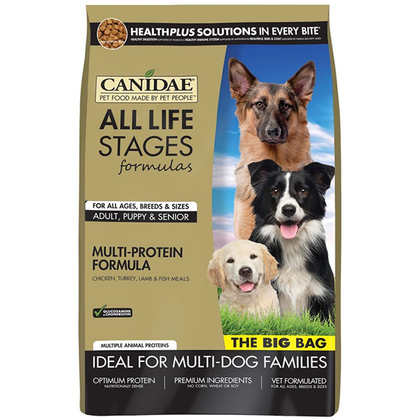 Canidae Dog Food: Chicken, Turkey, Lamb & Fish Meals