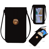 Touch Screen Cell Phone Crossbody- Bag Case
