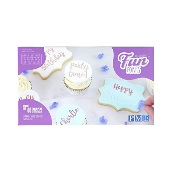 66 Pieces Cupcake and Cookie Stamping Set