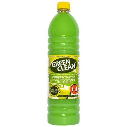 GREEN CLEAN Multipurpose Cleaner_Green Apple 1L (4196887953513)