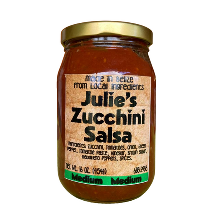 Julie's Zucchini Salsa Medium